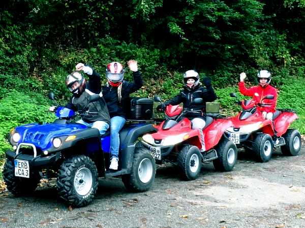Events mit Jeeps, Quads & Segways