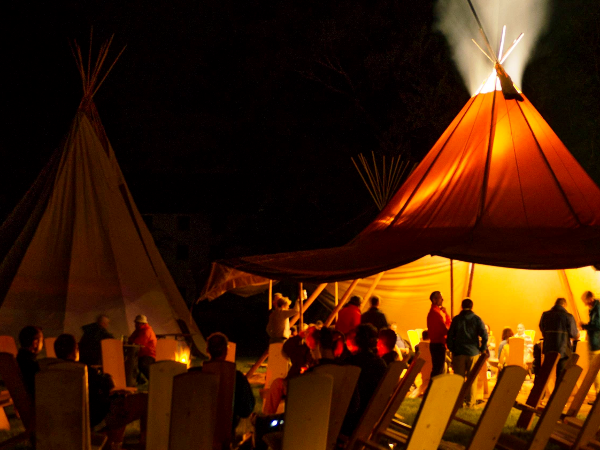 Tipi-Events und Tipibau-Workshops