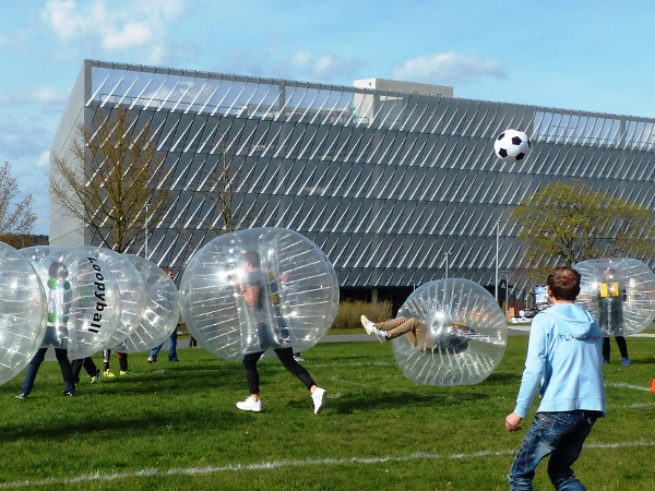 Bubble Soccer als Indoor-Event oder Outdoor-Highlight